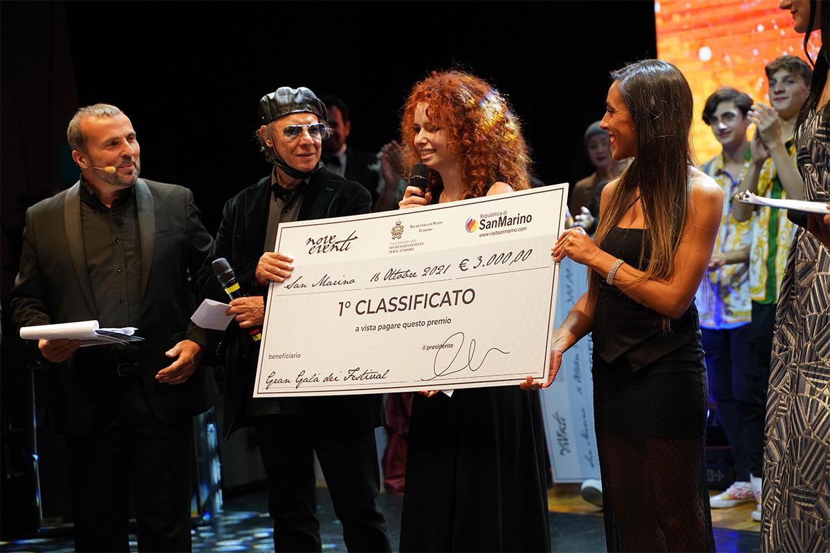 Chiara Carmosini vincitrice del Gran Galà dei Festival
